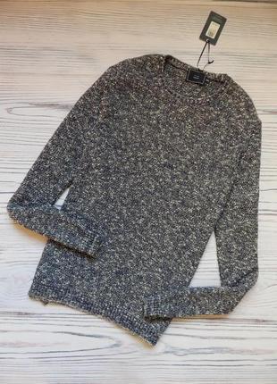 🌿шикарный мужской вязаный джемпер,  свитер от john lewis.  раз...
