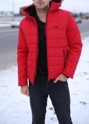 Мужская зимняя стильная куртка теплая