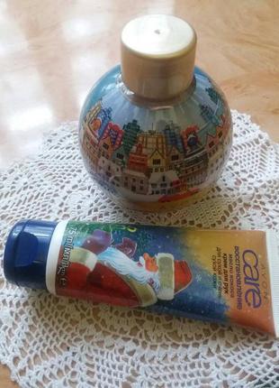 Набор- пена для ванны +крем для рук