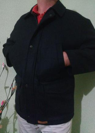 Мужская демисезонная куртка 52-54/шерсть-90%