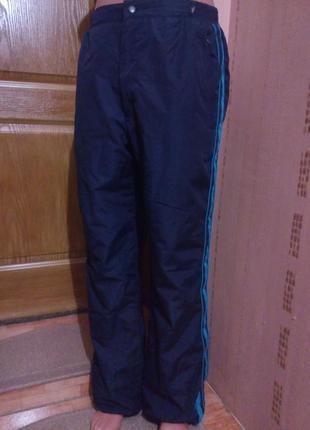Теплые зимние штаны на синтепоне m-l,44-46,10-12 uk,evr 40