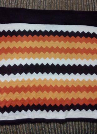 Стильная трикотажная юбка большого размера 54-56