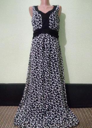 Романтичное летнее длинное платье макси,m-l