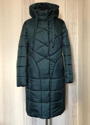 Женский пуховик-пальто , размер 58