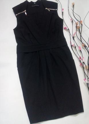 Черное платье футляр m-l