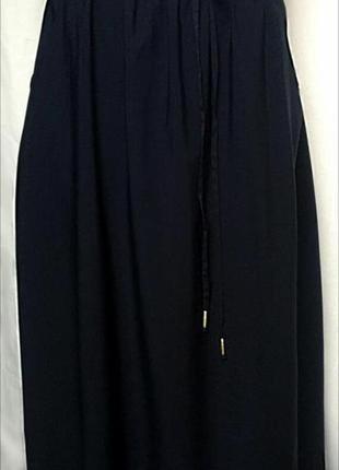 Легкая длинная юбка в пол макси большого размера