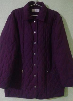 Стеганая куртка большого размера
