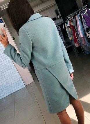 Пальто,кашемир, размер 42