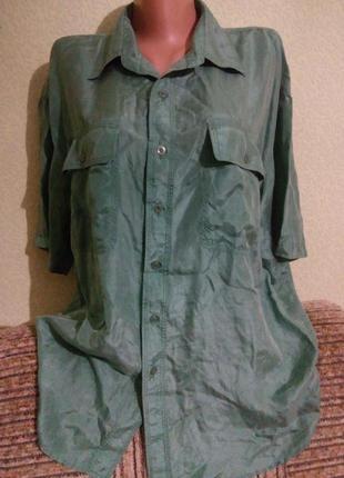 Шелковая блуза /100% шелк