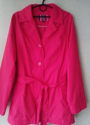 Легкая куртка ветровка большого размера