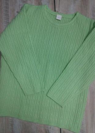 Нежный джемпер свитер большого размера