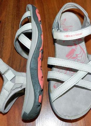 Karrimor ! шикарные, стильные, удобные кожаные сандалии-босоножки