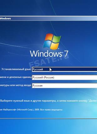 Установка /Переустановка Windows (виндовс).
