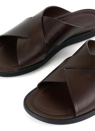 Sale | кожаные шлёпанцы tod's (6/40)