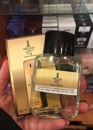 Тестер парфюм 60мл one million for men