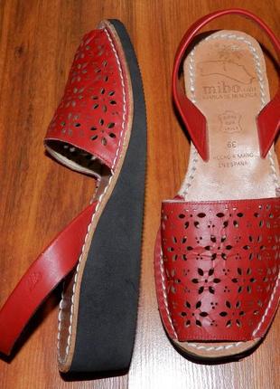 Mibo avarcas ! оригинальные, стильные, кожаные сандалии-босоножки