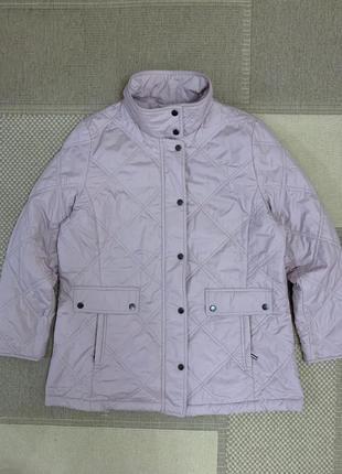 Пудровая стеганая куртка bexleys, новая!