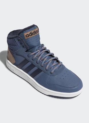 Мужские ботинки adidas hoops 2.0 mid артикул db3019