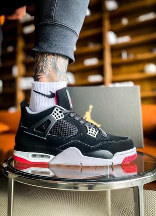 Nike air jordan 4 retro og 'bred'
