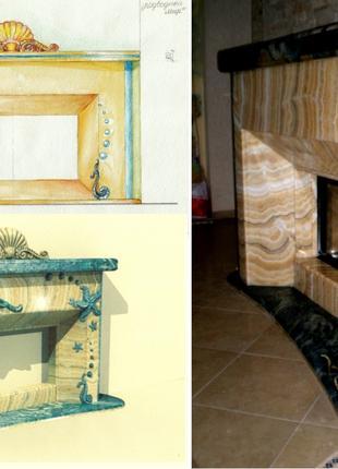 Камины Дизайн Изготовление и установка