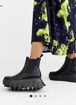 Ботинки грубые челси lamoda