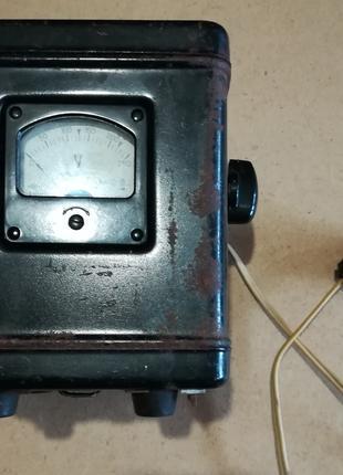 Регулирующий автотрансформатор МЭТП РАТ-025 с вольтметром