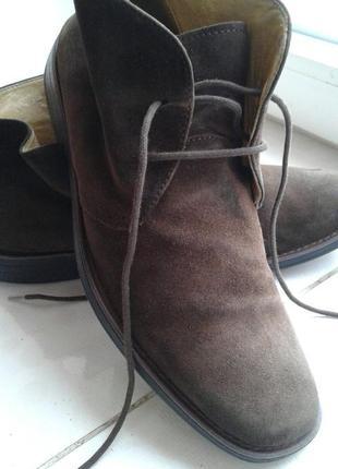 Ботинки замшевые с ортопедической стелькой