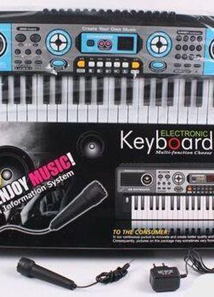 Дитячий піаніно, синтезатор MQ 017 UF от сети
