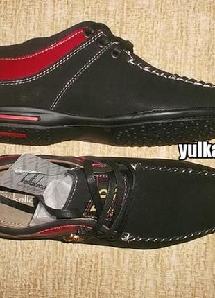 Туфли мокасины на шнуровке рр. 35