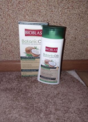 Шампунь з кокосовою олією BIOBLAS