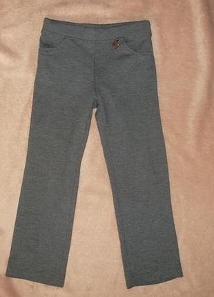 Стрейч-брюки на рост 110 см.