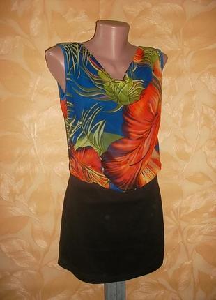Платье сарафан туника пог 49