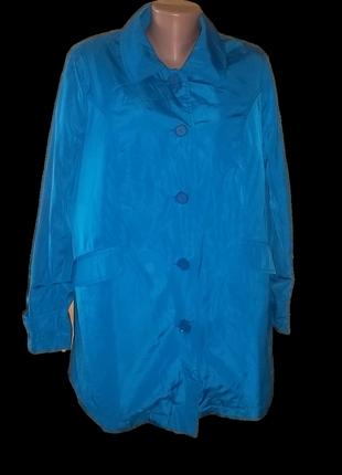 Куртка ветровка с подстежкой пог=60 см.