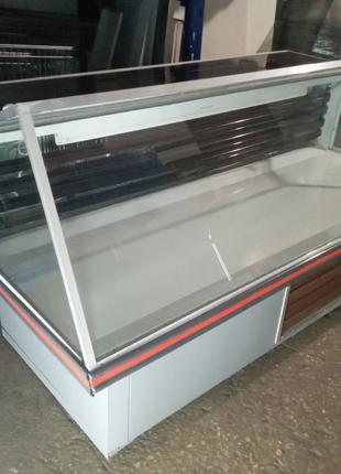 Рыба на льду 1,8 м б у, льодо стол б у, рыбная витрина б у