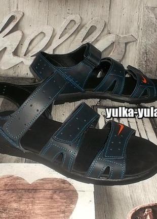 Стильные кожаные сандалии