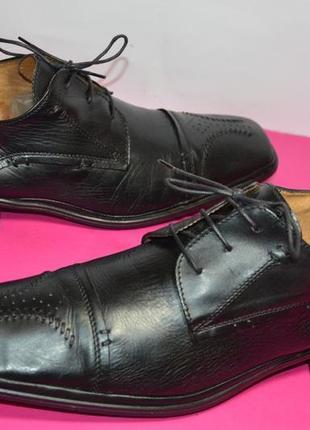 Кожаные туфли рр. 46 стелька 31,5 см.