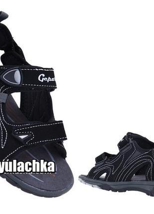 2в1 сандалии шлепанцы для мальчика на липучках в спортивном стиле