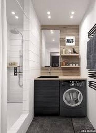 Ремонт ванной комнаты Под Ключ г.Энергодар и регион