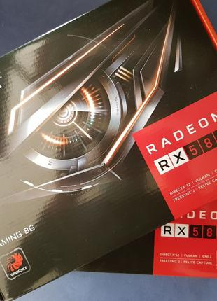 Відео карта Gigabyte Radeon RX 580 Gaming 8GB GDDR5