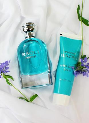 Набор мужская парфюмированная вода и лосьон после бритья baoli...