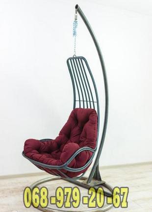 Кресло кокон подвесное Дели. Гамак купить в Украине. Качеля в сад