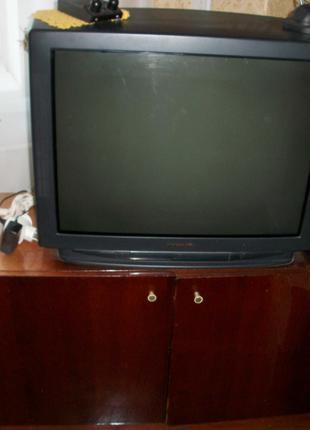 "Телевизор ""Panasonic"" 72-см, с приставкой на 32-канала,антенны"