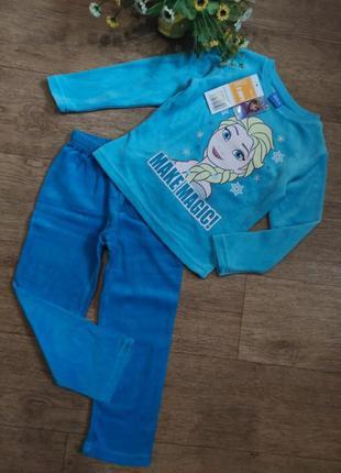Disney пижама домашний костюм эльза холодное сердце