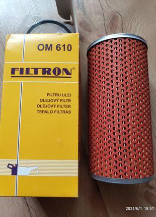 Масляные фильтр Filtron OM 610