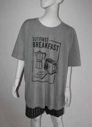 Мужская пижама одяг для дому чоловікам размер eur 52 54 56 58