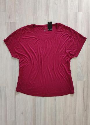 Женская футболка большой размер жіноча футболка розмір 48 50