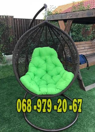 Кресло-кокон подвесное плетёное Веста из ротанга . Доставка - 50%