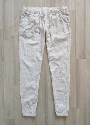 Білі брюки белые женские брюки