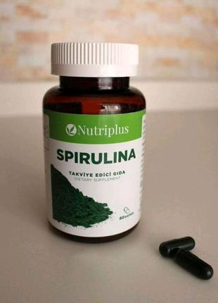 Спирулина натуральное средство для похудения Nutriplus