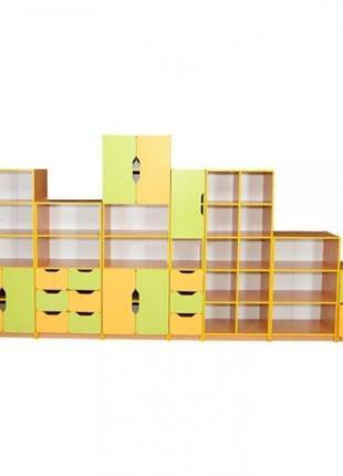 Стенка для школьных классов и детских садов